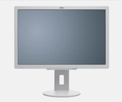 """Monitor 22"""" Fujitsu B22-8 WE Neo, höhenverstellbar, neigbar, schwenkbar, grau"""