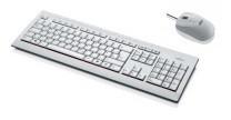 Fujitsu -USB- Tastatur und Maus in grau